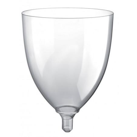 Calice Plastica per Vino Sommelier Trasp. 300ml (20 Pezzi)