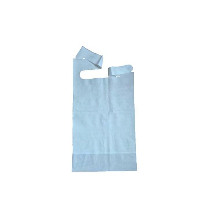 Bavaglino Adulto con Tasca Blu 36x65cm (500 Pezzi)