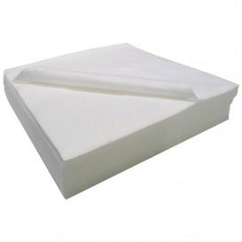 Asciugamani in Air Laid Bianco 40x90cm 50g/m² (25 Pezzi)