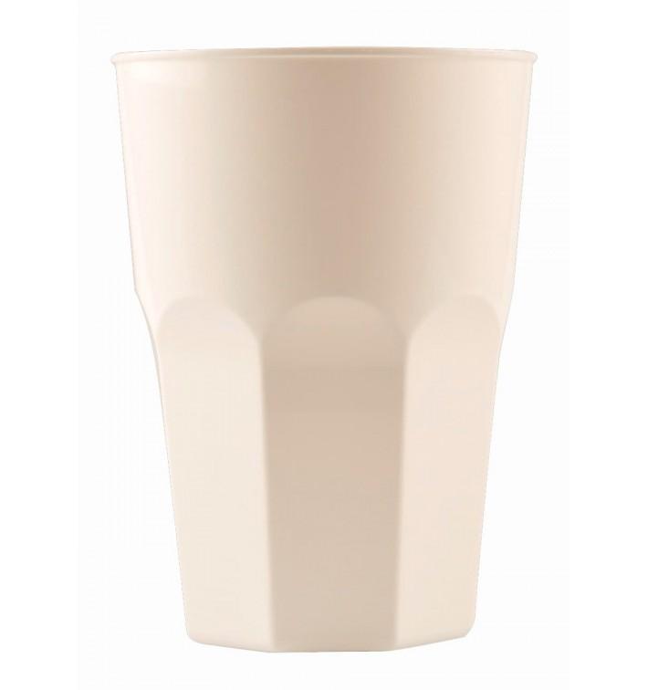 Bicchiere Plastica Cocktail Bianco PP Ø84mm 350ml (20 Pezzi)