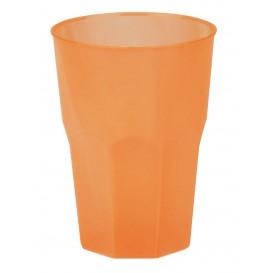 """Bicchiere Plastica """"Frost"""" Arancione PP 350ml (200 Pezzi)"""