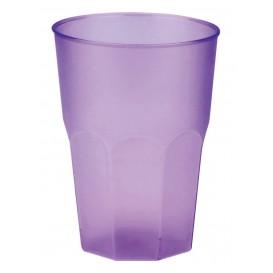"""Bicchiere Plastica """"Frost"""" Lilla PP 350ml (20 Pezzi)"""