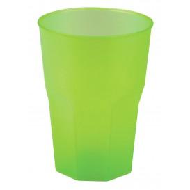 "Bicchiere Plastica ""Frost"" Verde Acido PP 350ml (420 Pezzi)"