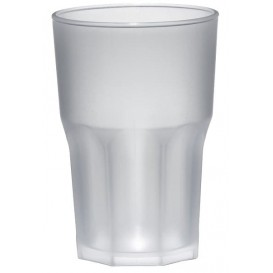 Bicchiere Plastica Trasparente PP Ø85mm 400ml (75 Pezzi)