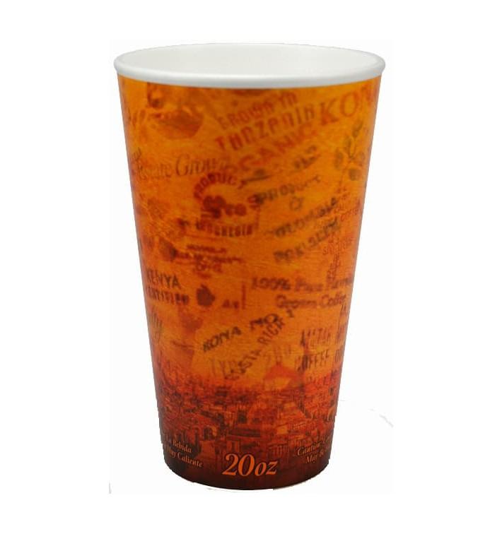 """Bicchiere Termici Fusion """"Escape"""" 20Oz/591ml Ø9,4cm (500 Pezzi)"""