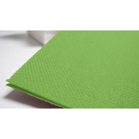 Servilleta de papel 40x40 Verde Prado (Paquete 50 Unidades)