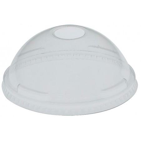 Coperchio a Cupola con Foro per Bicchieri PET Solo Ultra Clear 7Oz (125 Pezzi)