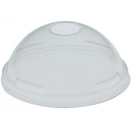 Coperchio Cupola con Foro PET Glas Ø10,7cm (25 Pezzi)