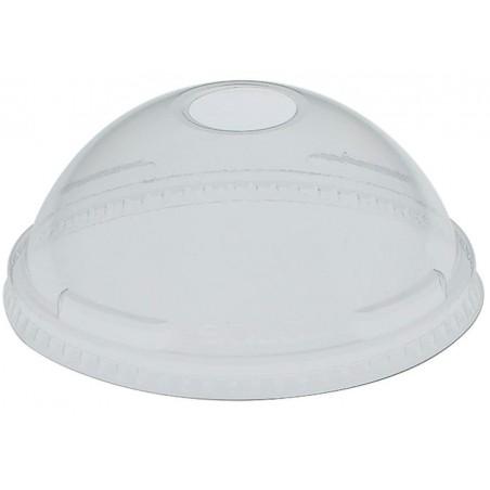 Coperchio a Cupola con Foro per Bicchieri PET Solo Ultra Clear 32Oz (25 Pezzi)