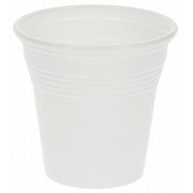 Bicchiere di Plastica PS Bianco 80 ml (4.800 Pezzi)