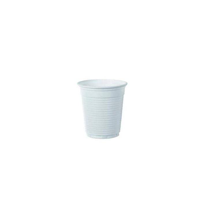 Bicchiere di Plastica PS Bianco 166ml Ø7,0cm (3000 Pezzi)