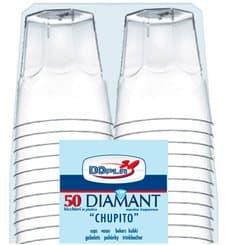 "Bicchiere Plastica ""Diamant"" PS Transp. Cristal 50ml (600 Uds)"