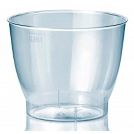 Bicchiere di Plastica Rigida PS 160 ml (25 Pezzi)