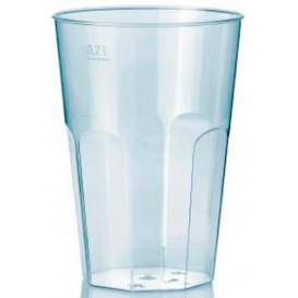 """Bicchiere Plastica """"Deco"""" PS Trasparente 200 ml (500 Pezzi)"""