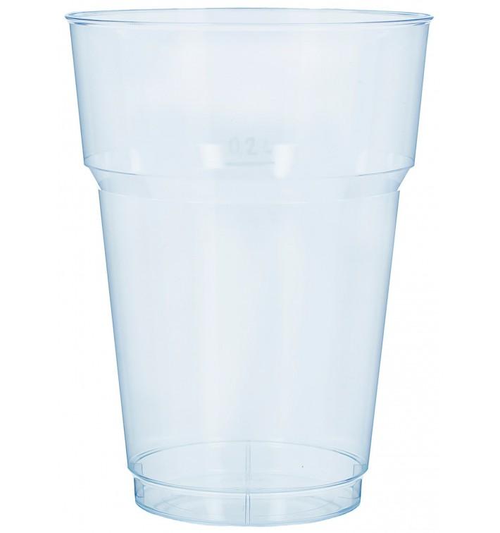 Bicchiere da Birra PS Trasparente 200 ml (40 Pezzi)