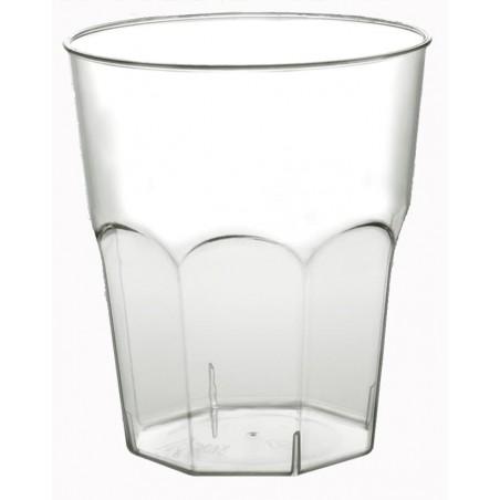 Bicchiere di Plastica da Cocktail Trasp. PS Ø73mm 200ml (50 Pezzi)