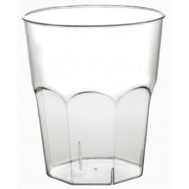 Bicchiere di Plastica da Cocktail Trasp. PS Ø84mm 270ml (20 Pezzi)