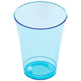Bicchiere Plastica Rigida Turchese 230 ml (10 Pezzi)