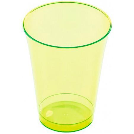 Bicchiere di Plastica Rigida Verde 230 ml (10 Pezzi)