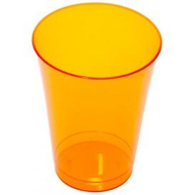 Bicchiere di Plastica Rigida Arancione 230 ml (10 Pezzi)