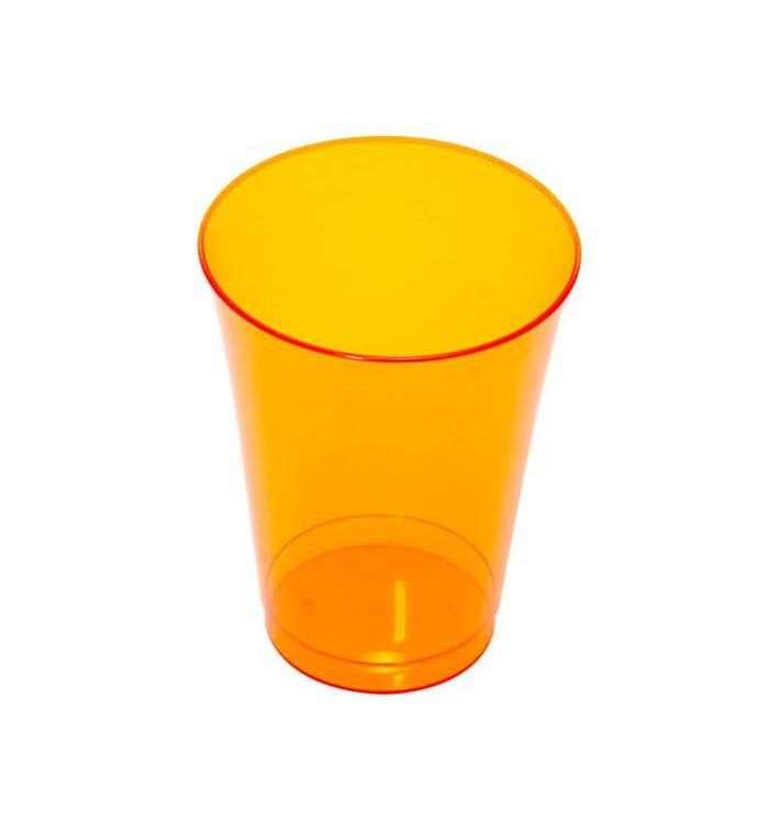 Bicchiere di Plastica Rigida Arancione 230 ml (150 Pezzi)