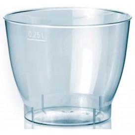 Bicchiere di Plastica Cool Cup PS 250 ml (25 Pezzi)