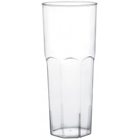 Bicchiere di Plastica Vetro Trasp. PS Ø65mm 350ml (180 Pezzi)
