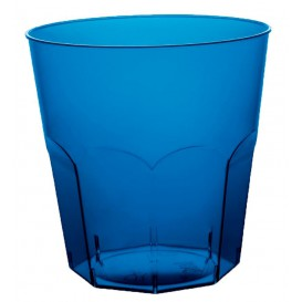 Bicchiere Plastica Cocktail Blu Transp. PS Ø73mm 220ml (500 Pezzi)