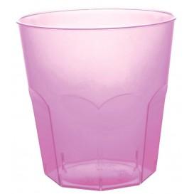 Bicchiere di Plastica Lilla Trasp. PS Ø73mm 220ml (50 Pezzi)