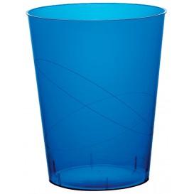 Bicchiere di Plastica Moon Blu Trasp. PS 320ml (20 Pezzi)