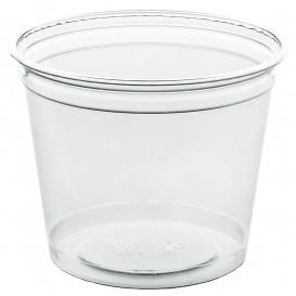 Bicchiere di Plastica Rigida in PET 215 ml Ø8,1cm (50 Pezzi)