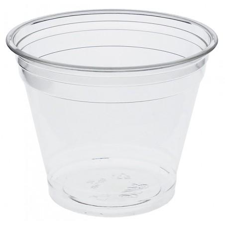Bicchiere di Plastica Rigida in PET 9 Oz/265ml Ø9,5cm (50 Pezzi)