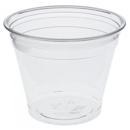 Bicchiere di Plastica Rigida in PET 9 Oz/265ml Ø9,5cm (1000 Pezzi)