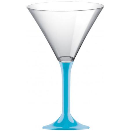 Coppa di Plastica Cocktail con Turchese 185ml (200 Pezzi)