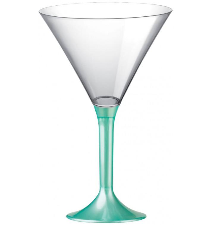 Coppa Plastica Cocktail Gambo Tiffany Perlato 185ml 2P (20 Pezzi)