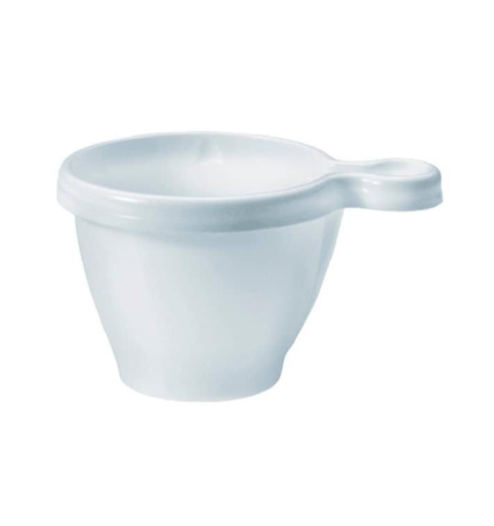 Tazze di Plastica PS Bianco 80 ml (50 Pezzi)