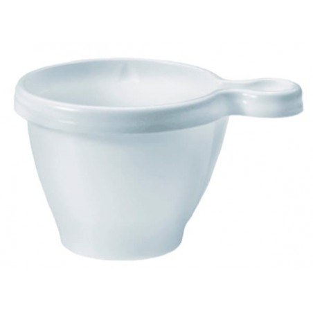 Tazze di Plastica PS Bianco 170 ml (50 Pezzi)