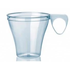 Tazze di Plastica Trasparente 80ml (40 Pezzi)
