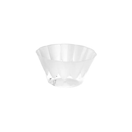 Coppa di Plastica Royal per Gelato e Dessert Trasparente 500ml (25 Pezzi)