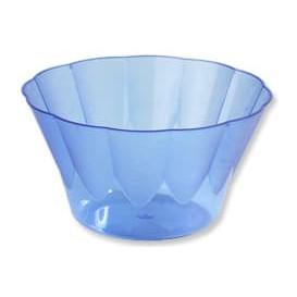 Coppa di Plastica Royal per Gelato e Dessert Blu 400 ml (30 Pezzi)