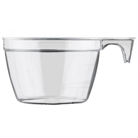 Tazze di Plastica Cup Trasparente 90ml (50Pezzi)