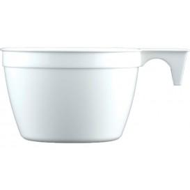 Tazze di Plastica Cup Bianco PP 90ml (50 Pezzi)
