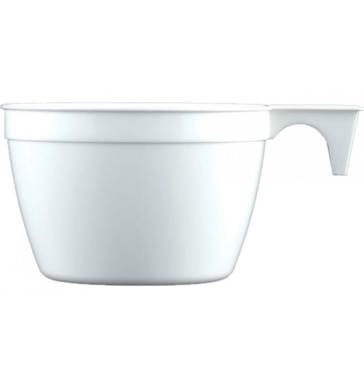 Tazze di Plastica Cup Bianco 190ml (25 Pezzi)
