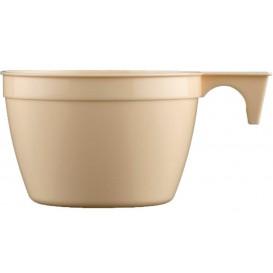 Tazze di Plastica Cup Beige 190ml (1000 Pezzi)