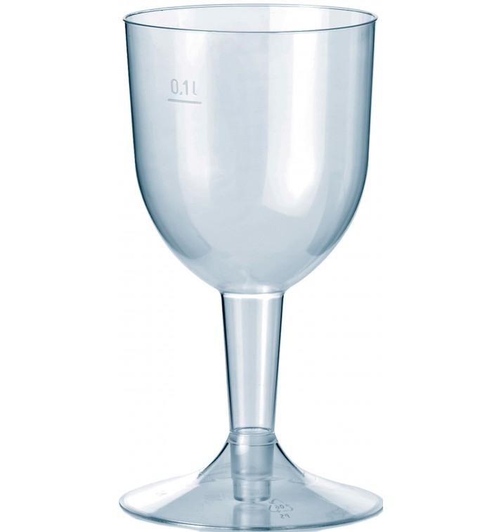 Calice di Plastica Premium Acqua o Vino 140ml 2P (20 Pezzi)