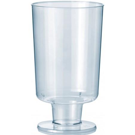 Calice con Gambo di Plastica 150 ml (264 Pezzi)
