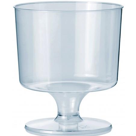 Calice con Gambo di Plastica 170 ml (540 Pezzi)