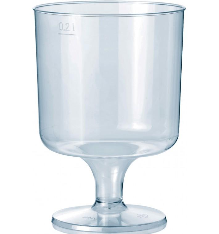 Calice con Gambo di Plastica 200 ml 1P (400 Pezzi)