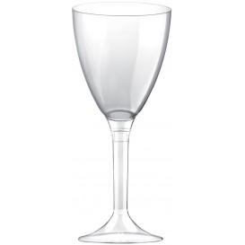 Calice Plastica Vino Gambo Transp. 180ml 2P (20 Pezzi)
