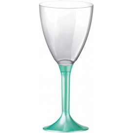 Calice Plastica Vino Gambo Tiffany Perlati 180ml 2P (20 Pezzi)